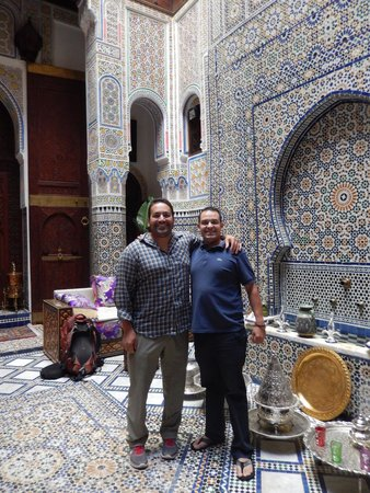 Riad Rcif : The owner on the right