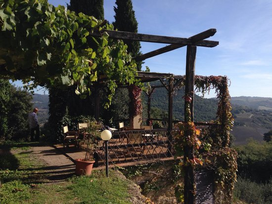 Agriturismo Podere San Lorenzo: A room with a view