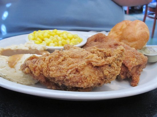 The Willow: Fried Chicken with sides