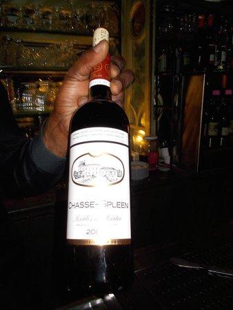 Bouillon Racine : Wine quality good.