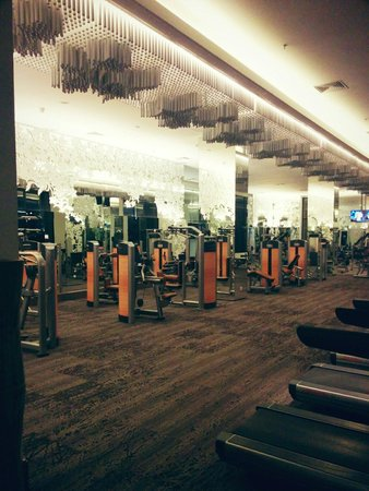 Hotel Tentrem Yogyakarta : Fitness area tentrem hotel all lifefitness