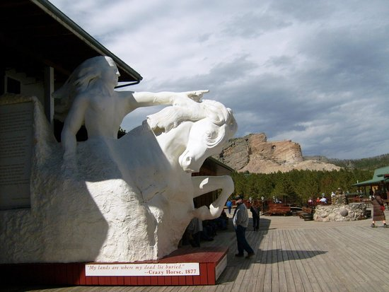 Crazy Horse Memorial: How it will look when complete