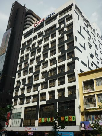 Citrus Hotel Johor Bahru : Citrus Hotel From JB City Square Mall