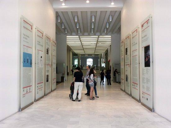 La Triennale de Milan : view from the main entrance