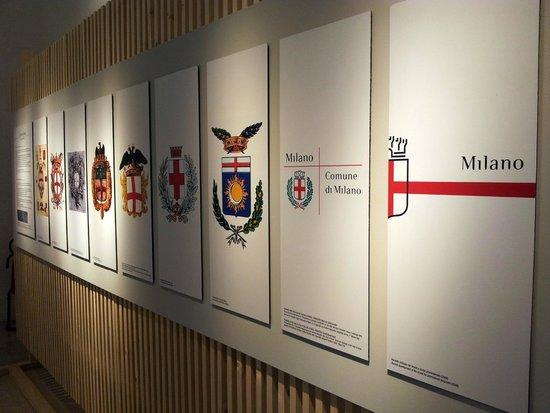 La Triennale de Milan : expo on Milan symbols
