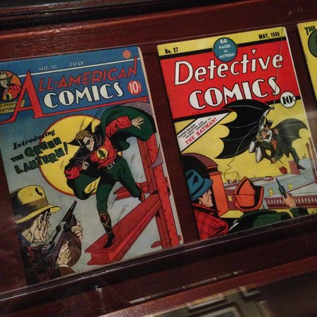 Geppi's Entertainment Museum: The number of early edition comics is quite impressive.