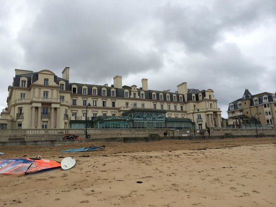 Le Grand Hotel des Thermes Marins de St-Malo: From the ocean