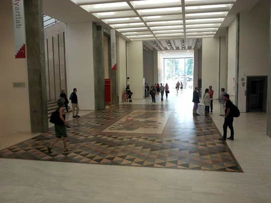La Triennale di Milano: view of the entrance