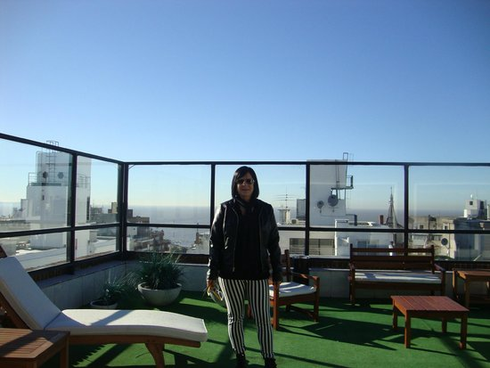 Pocitos Plaza Hotel: Vista na cobertura