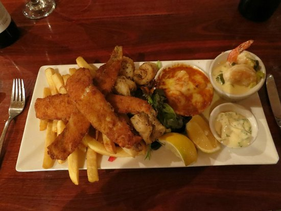 Nicolas Baudin's Restaurant and Bar: Seafood Medley