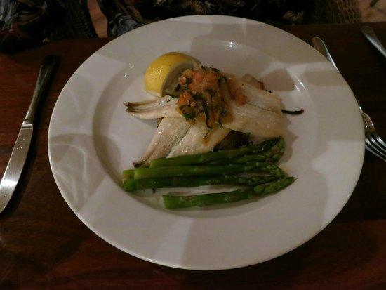 Nicolas Baudin's Restaurant and Bar: Garfish, Asparagus & Fennel Relish