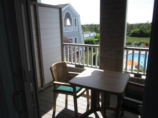Winnetu Oceanside Resort: Deck and (great) view