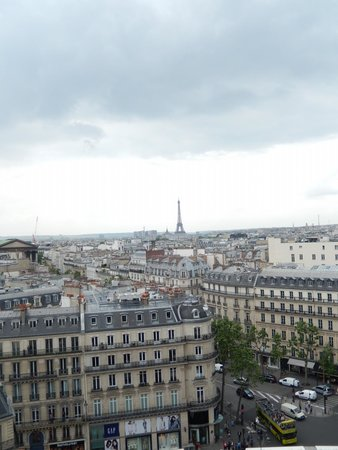 Printemps : view from the roof top 2