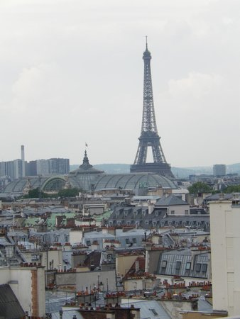Printemps : view from the roof top