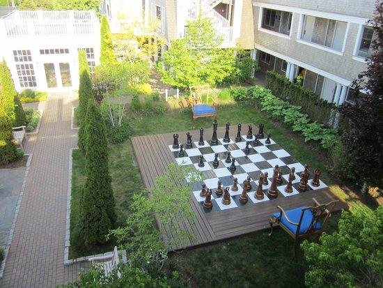 Winnetu Oceanside Resort: Life-Size Chess!