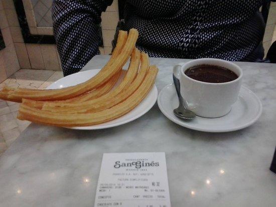 Chocolatería San Ginés: Churros