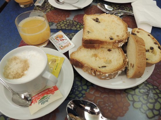 Hotel Centrale: 朝食はまあまあ