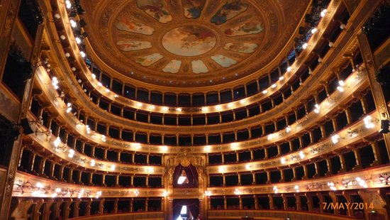 Teatro Massimo: The view from the stage