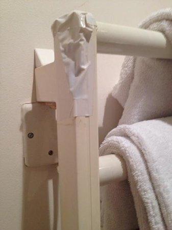 Hotel Relais Saint Sulpice : the heated towel rack.