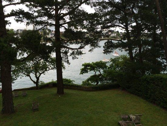 Villa Tri Men : A room with a view.