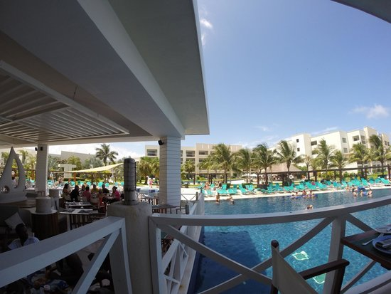 Secrets Silversands Riviera Cancun: View from Oceana