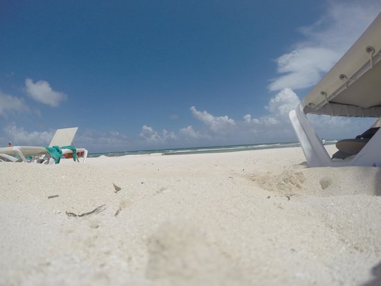 Secrets Silversands Riviera Cancun: Day on the beach