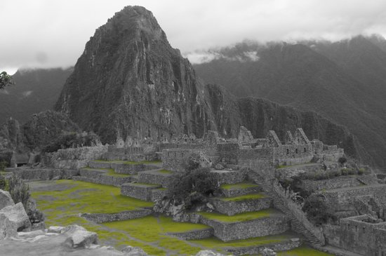 Machu Picchu: From one of the many photo opts