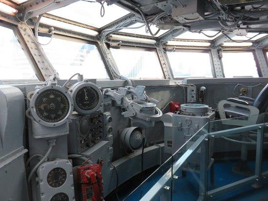 Intrepid Sea, Air & Space Museum : Ponte de comando
