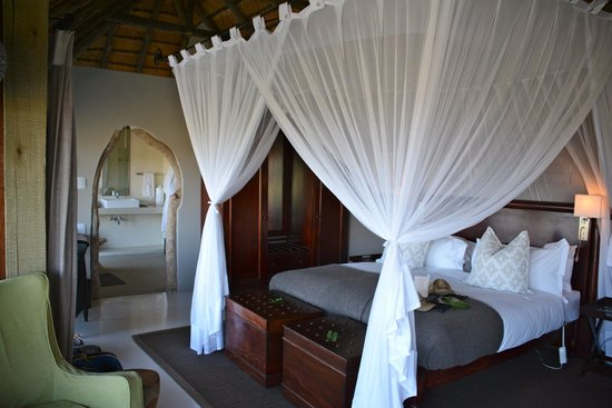Leopard Hills Private Game Reserve : Bedroom.