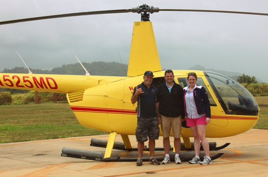 Mauna Loa Helicopters Tours: Our pilot Guy! What an awesome person!