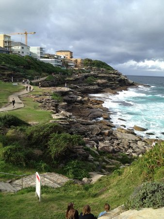 Bondi to Coogee Beach Coastal Walk: View where we had walked