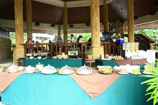 Baan Hin Sai Resort & Spa : อาหารเช้า
