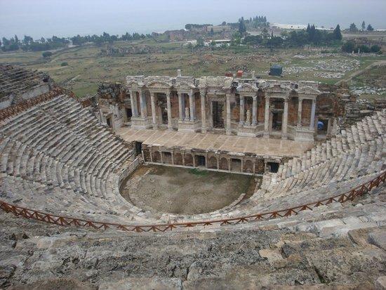 Hierapolis & Pamukkale : Амфитеатр