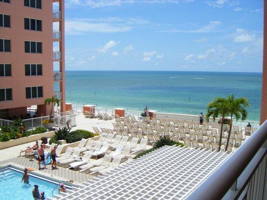 Hyatt Regency Clearwater Beach Resort & Spa: view from our room