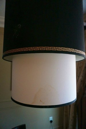 """Venetian Resort Hotel Casino : I call this the """"vomit lamp."""" I'm not sure what really happened."""