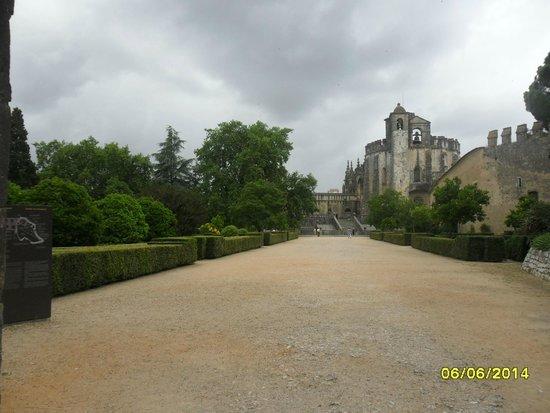 Vista do Jardim do Convento de Cristo/Castelo de Tomar