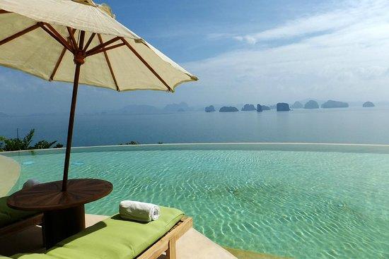 Ko Yao Noi, Thailand: pool area