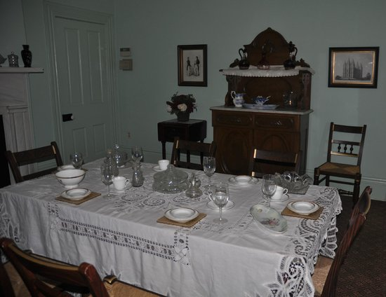 Brigham Young Winter Home Historical Site: Dinning room