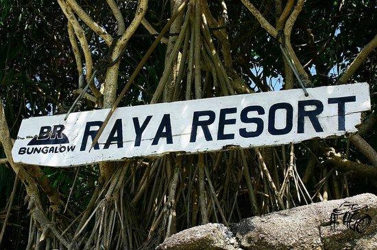 Bungalow Raya Resort: ป้ายระหว่างทาง