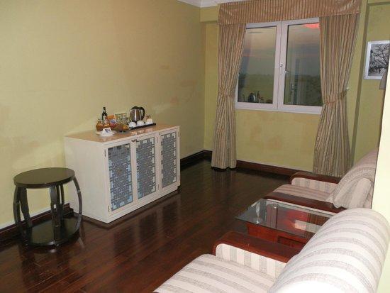 Maison D'Hanoi Hanova Hotel : sitting area