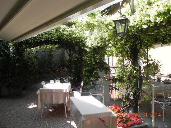 Ristorante Bilacus : patio