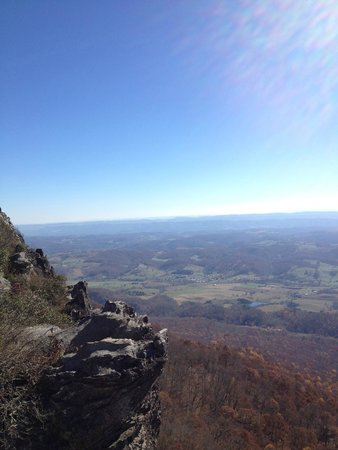 Cumberland Gap National Historical Park: View from White Rock area