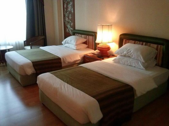 Chiang Mai Orchid Hotel : ห้องพักแบบ deluxe twin