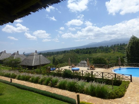 Neptune Ngorongoro Luxury Lodge : pool view