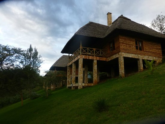 Neptune Ngorongoro Luxury Lodge : one of the huts- everyone gets their own!