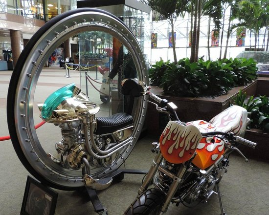 Sony Pictures Studio Tour: Motorcycle props