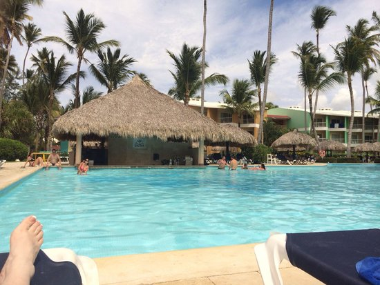 Grand Palladium Punta Cana Resort & Spa: One of the many pools