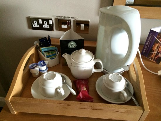 City Hotel : Tea/Coffee making facilities