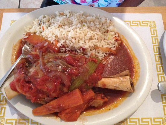 Pegasus Cafe: Delicious lamb shank