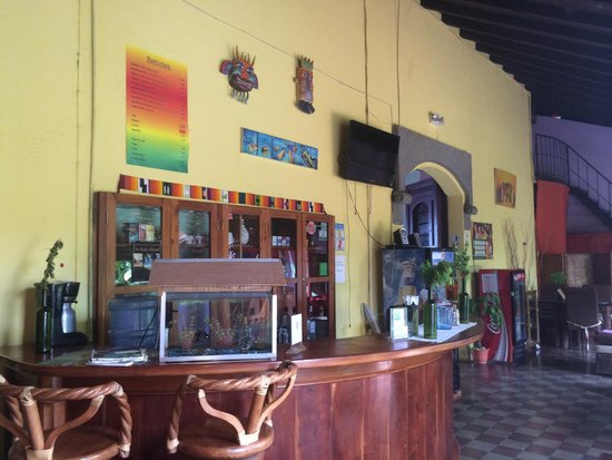 Hostal El Momento: Bar/Food